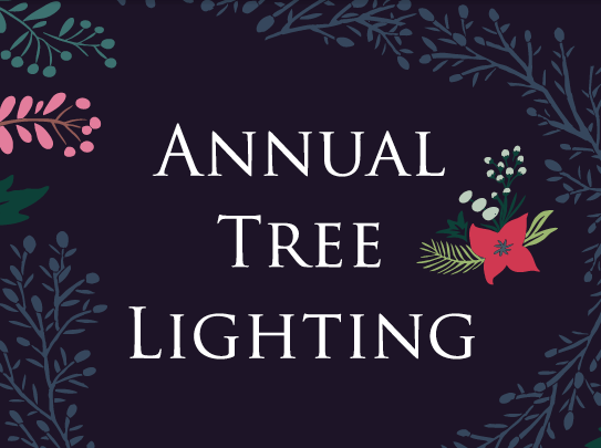 Annual Tree Lighting 2017